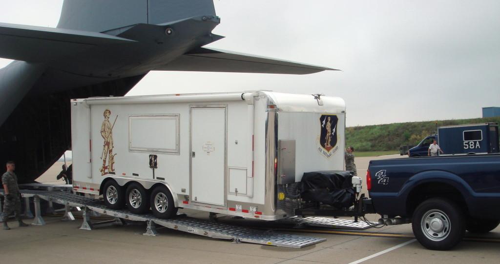 5-leg DAMAS over C-130
