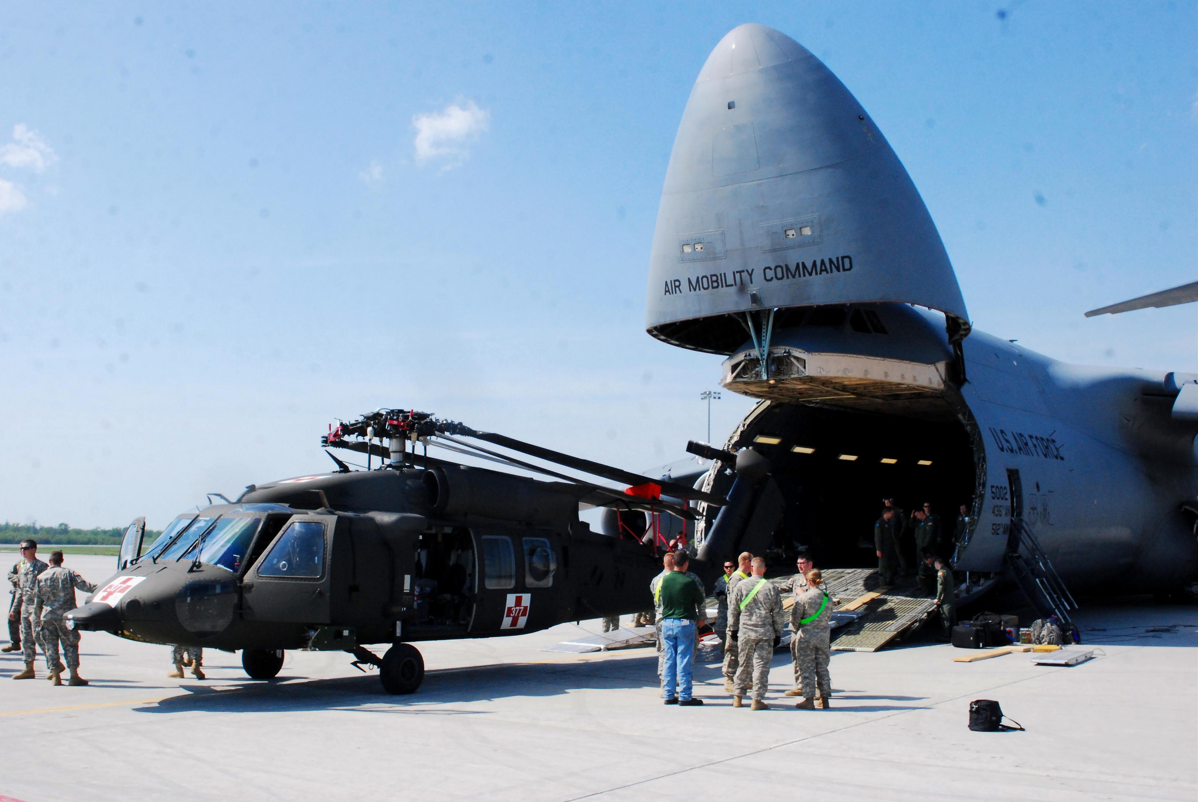 HelMAS UH-60 onto C-5